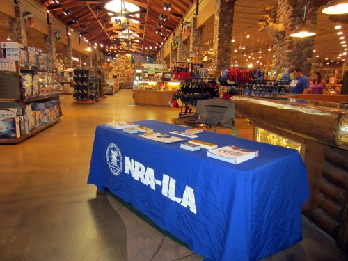 Recruiting at Cabela's