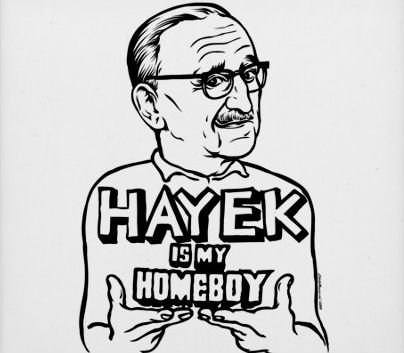 Hayek is my Homeboy (from Reason.com)
